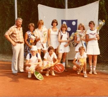 1976: Zondag jeugd, team 1 en 2 naar de play offs voor het Nederlands kampioenschap.